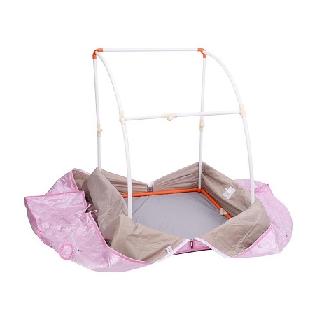 2l Portable Steam Sauna Tent SPA Detox Weight Loss with Chair Pink