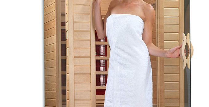 "Dynamic ""Alicante"" 1-2-person Bio Ceramic Far Infrared Sauna"
