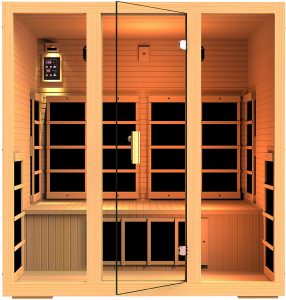 JNH Lifestyles Far Infrared Sauna 9 Carbon Fiber Heaters