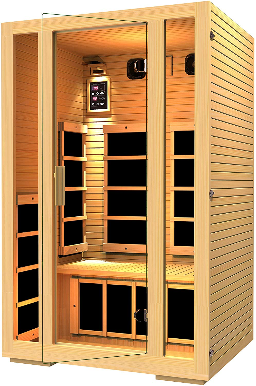 JNH Lifestyles MG217HB Joyous 2 Person Far Infrared Sauna