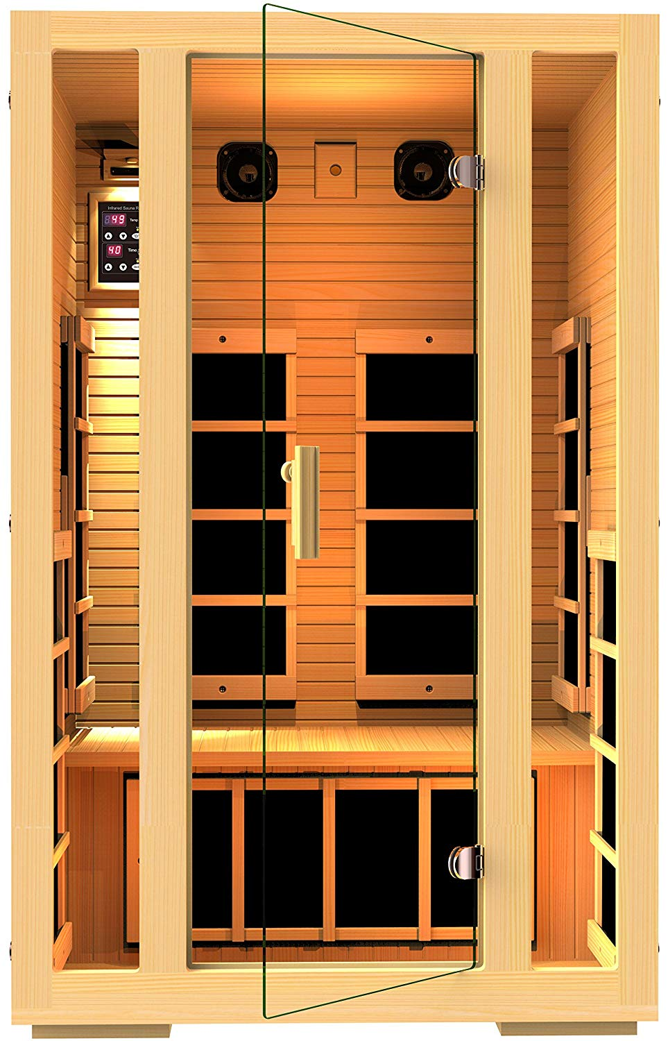 JNH 2 Person Far Infrared Sauna Reviews