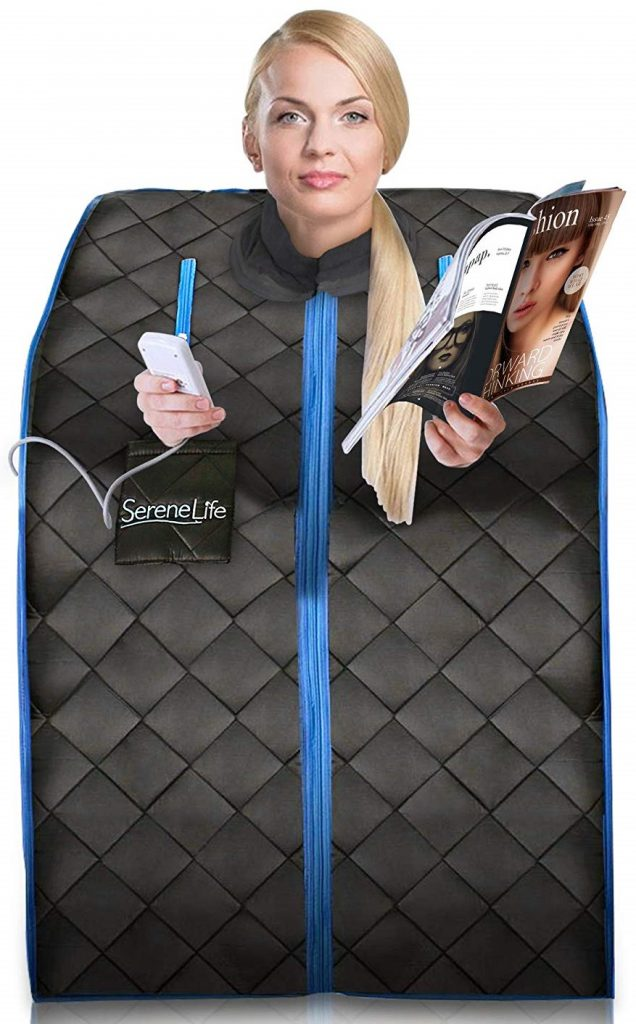SereneLife Portable 1 prson Far Infrared Sauna Reviews & Benefits By Consumer Reports