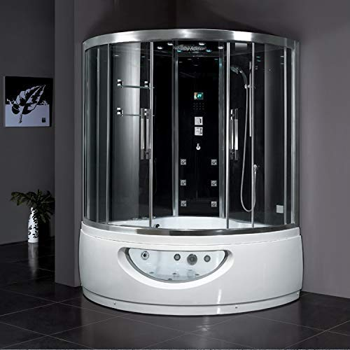 Ariel Bath DA333F8 Platinum Steam Shower