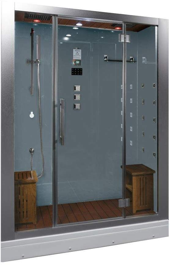 Ariel Platinum DZ972-1F8-W Steam Shower