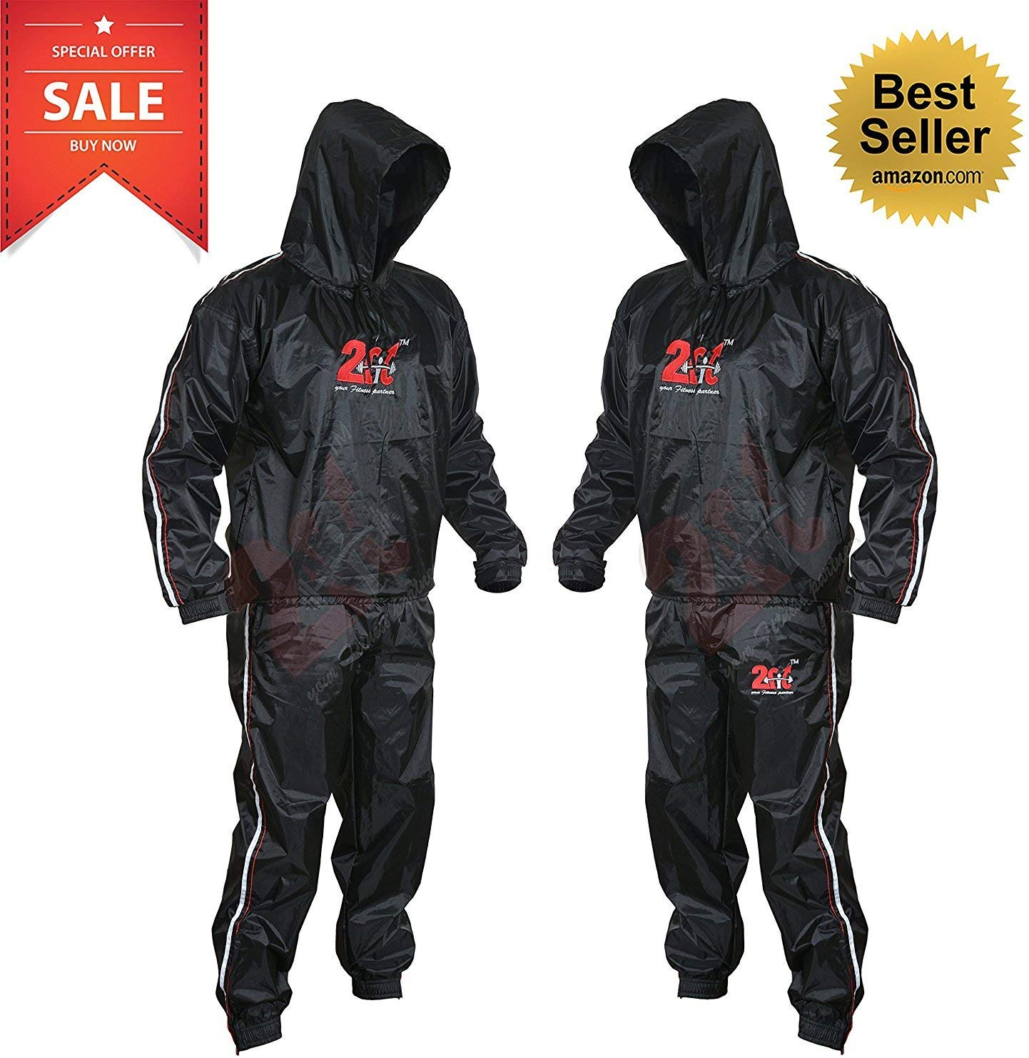 2Fit Heavy-Duty Sauna Suit