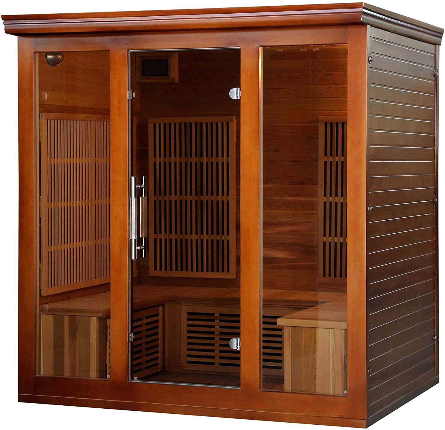 Radiant Saunas 4-5-Person Cedar Infrared Sauna