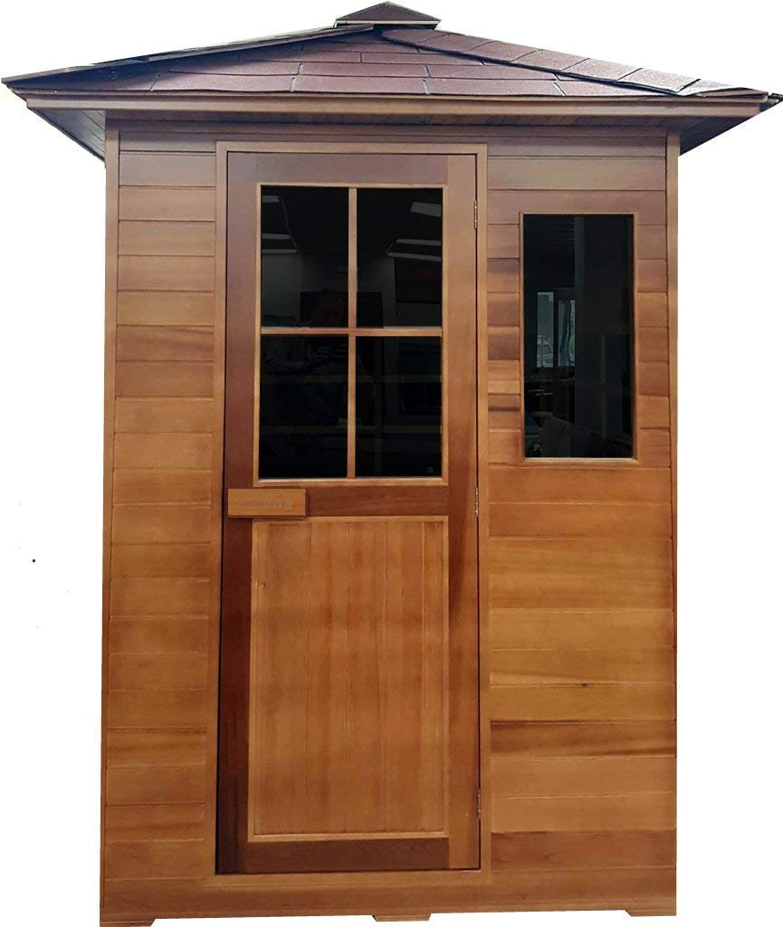 MCP Cedar Sauna 3-Person Outdoor Sauna